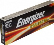 10x BATERIE LR6 AA ENERGIZER INDUSTRIAL